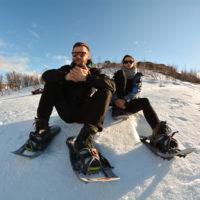 Snowshoeing trip