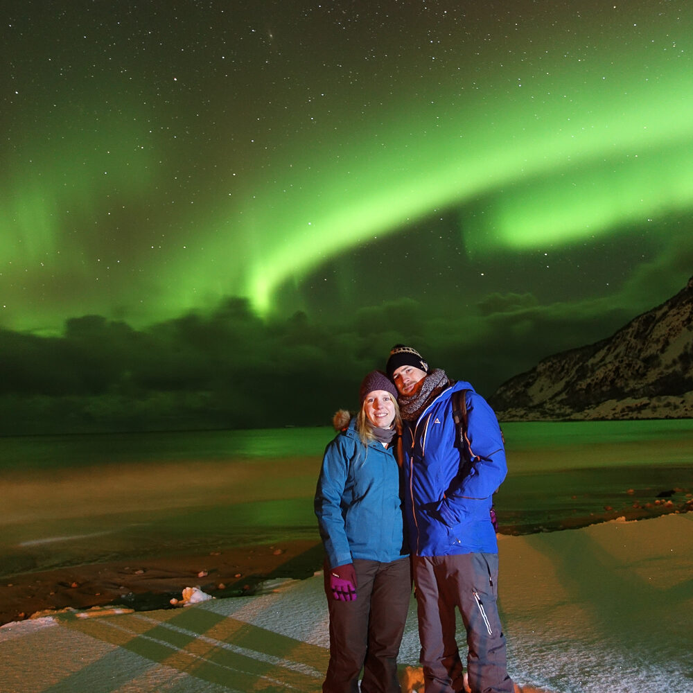 Northern Lights with the guests